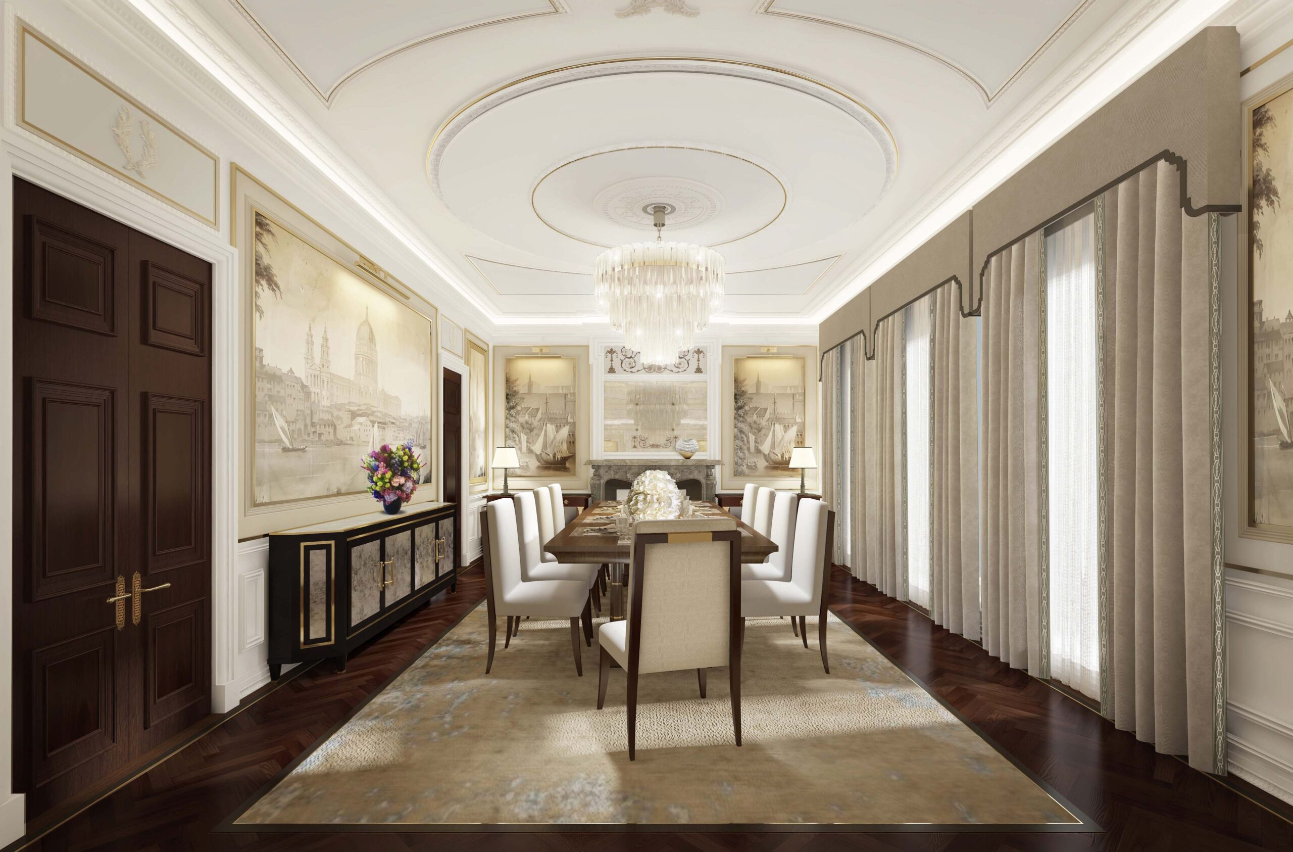Luxury historic property rennovation
