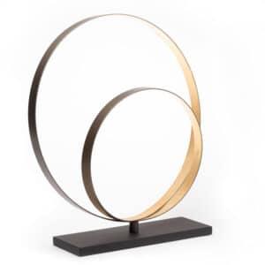 Double Loop Sculpture