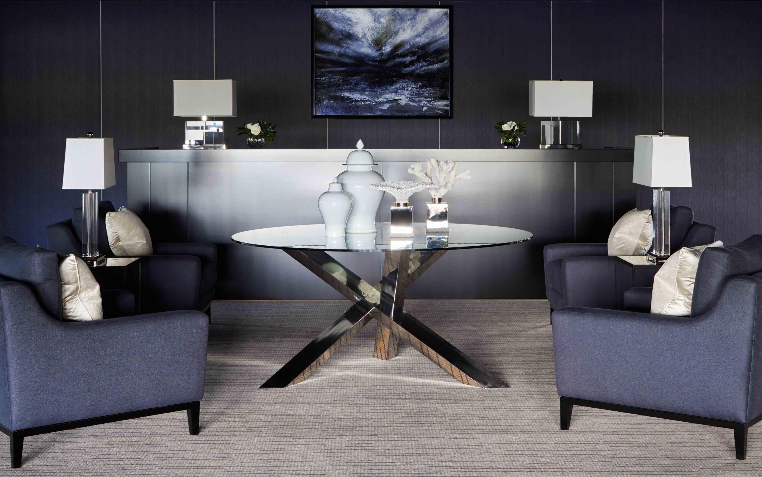 interior designer airpot lounge