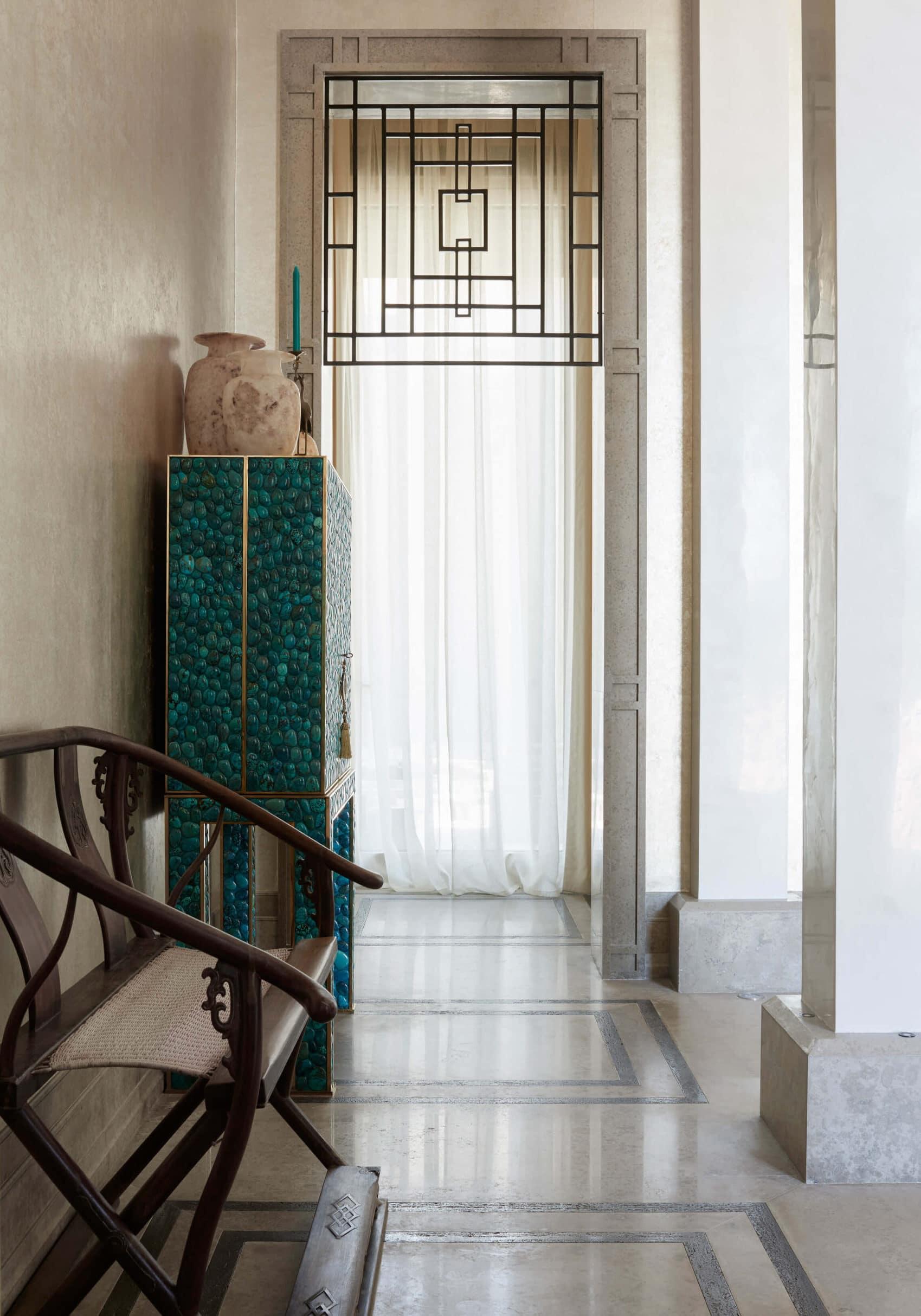 private interior design project for villa in Kuwait