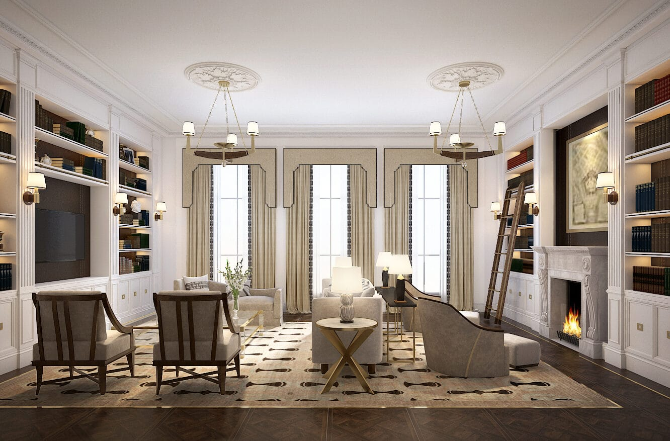 luxury rennovation of London home