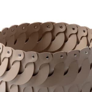 Audrey Leather Basket