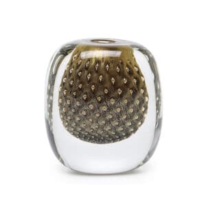 luxury handblow glass vase