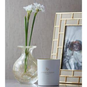 Bolla Gold Glass Vase