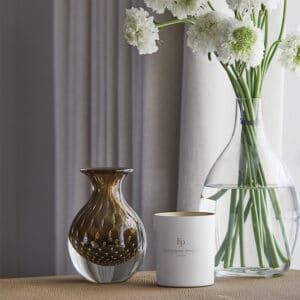 Bolla Fume Glass Vase