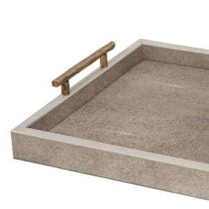 Belmont Natural Shagreen Tray