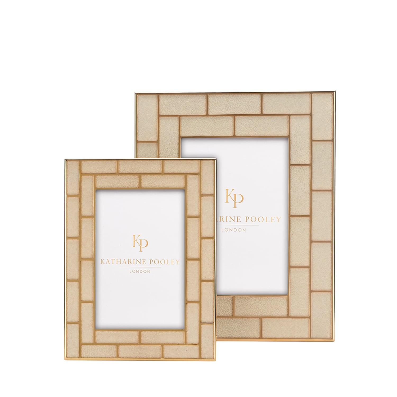 luxury Block Shagreen Photograph Frame