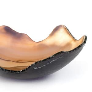 Gold Organic Bowl