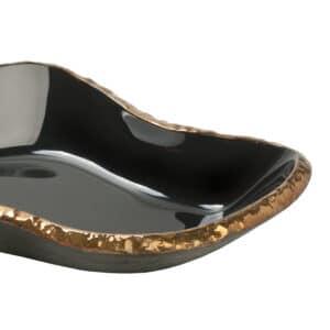 Cali Noir Glass Bowl