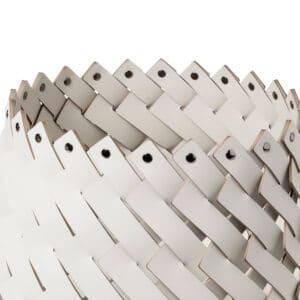 Cora Leather Basket