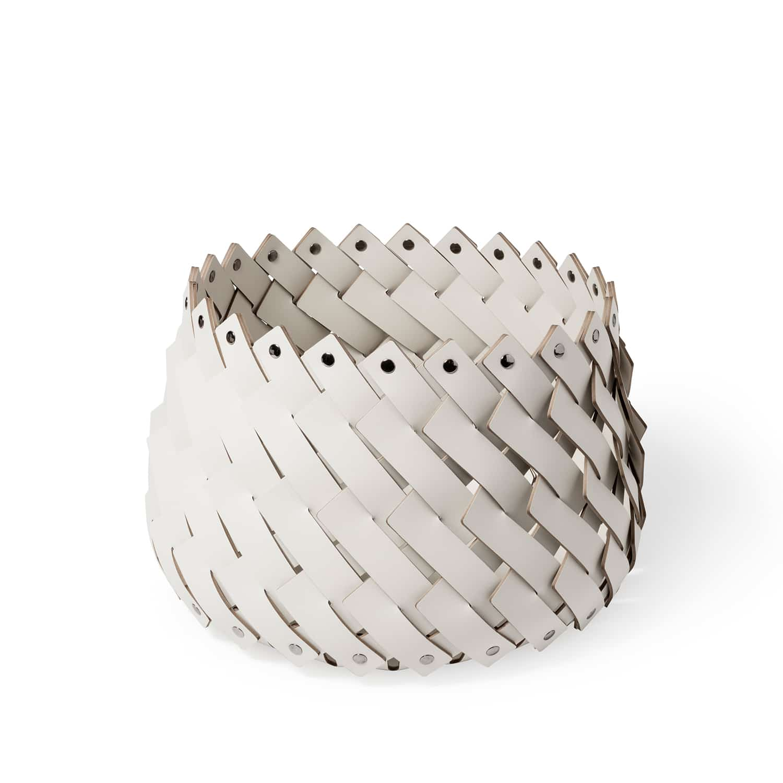 Cora Handmade Luxury Leather Basket