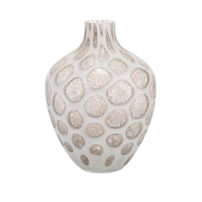 Luxury glass vase