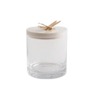 Luxury bathroom storage jar