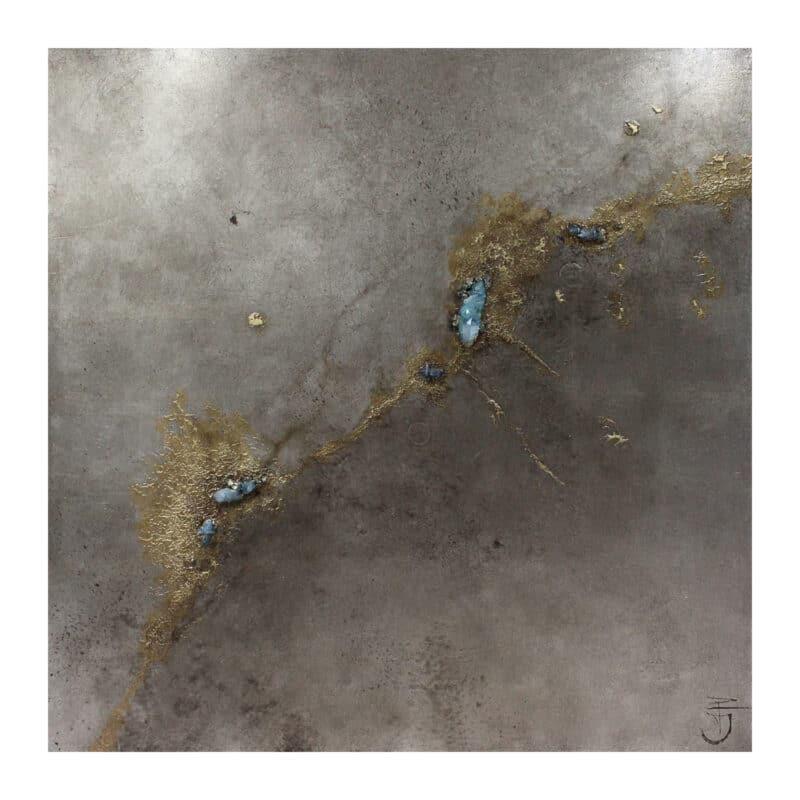 Drift Blue Quartz Artwork