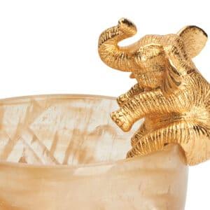 Elephant Quartz Bowl