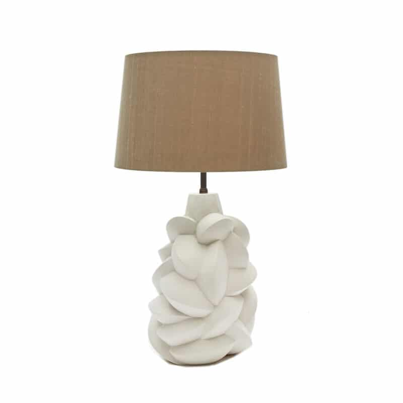 Luxury Hand-Crafted Plaster Lamp