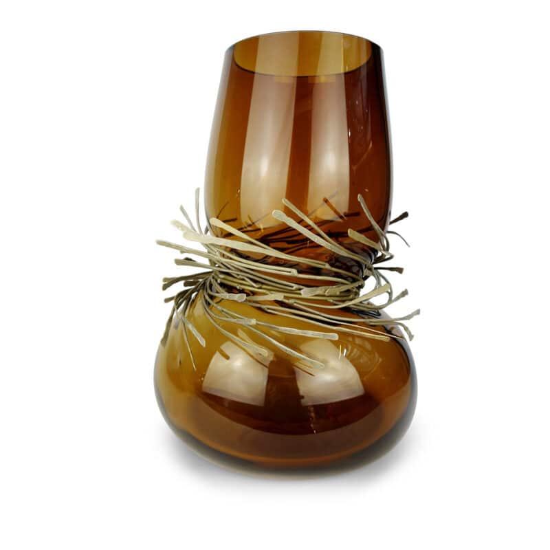 Camille Hand-Blown Luxury Glass Vase