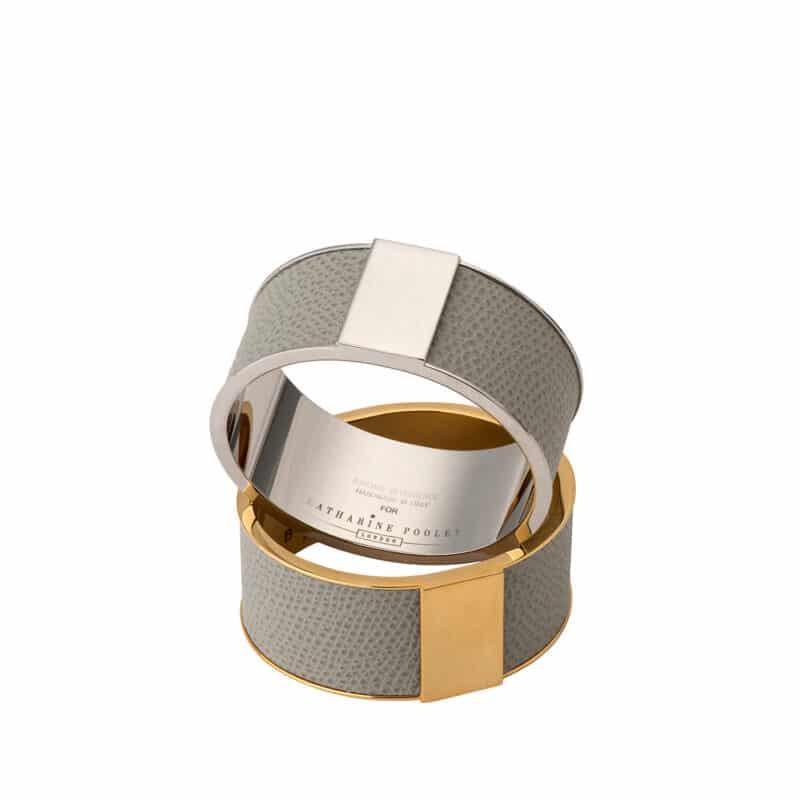 Jacques Italian Leather Napkin Ring