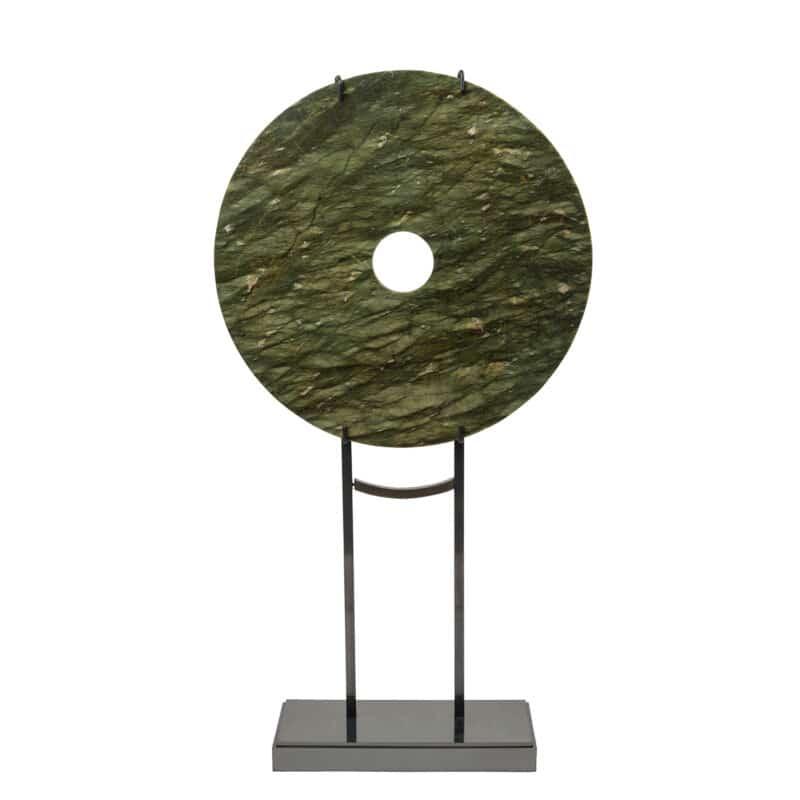 Green Jade Decorative Disk