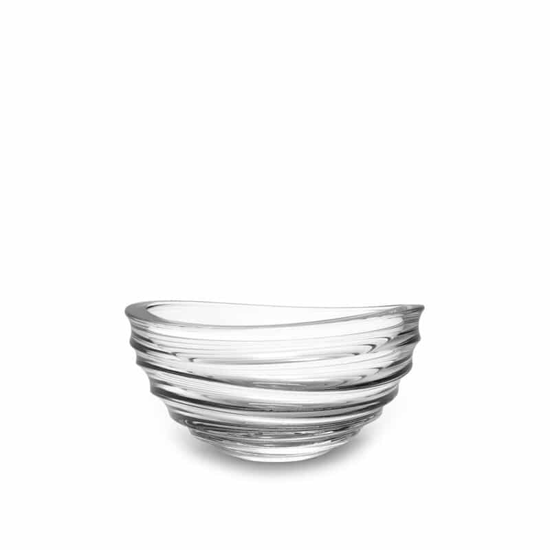 Handcrafted Crystal serving Bowl