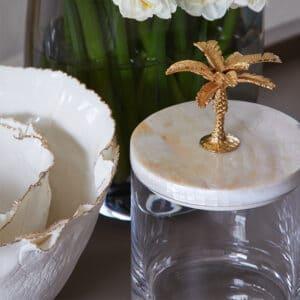 Palm Storage Jar