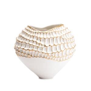 Designer Handmade Italian Porcelain Vase