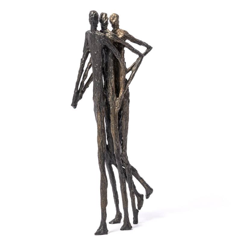 Sprint Bronze Figure Sculpture