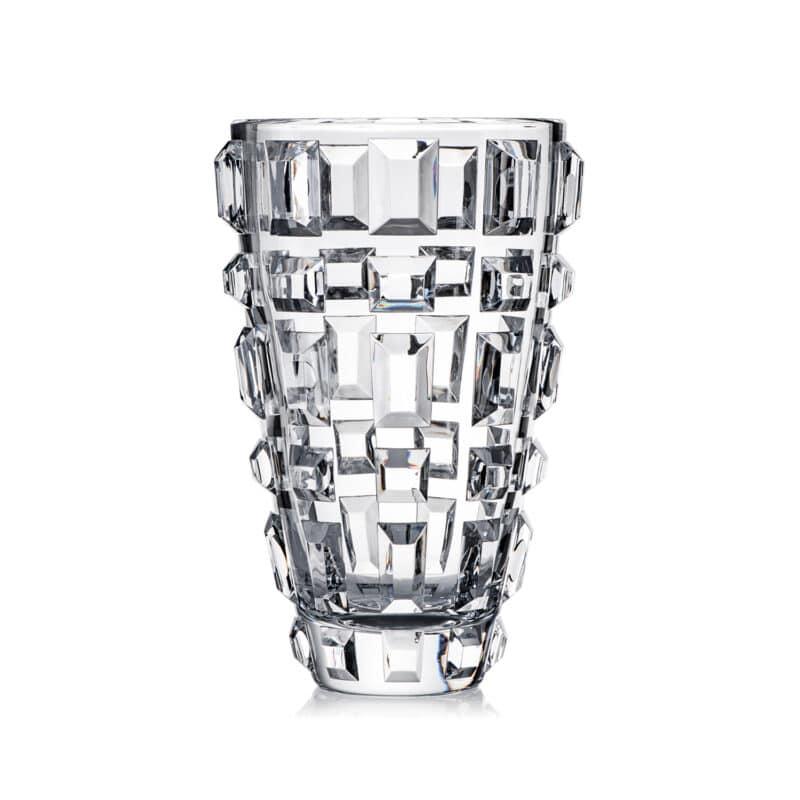 Designer Geometric Handmade Crystal Vase